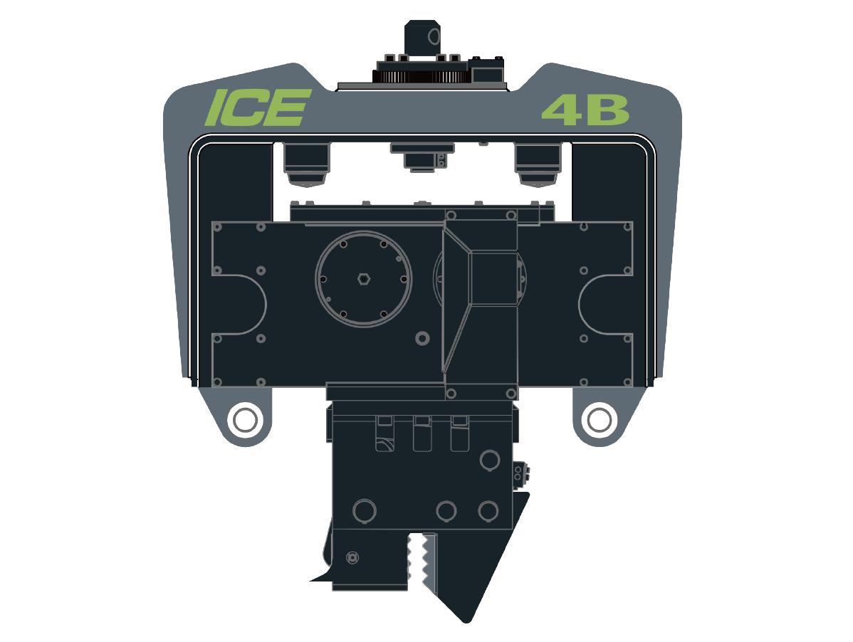4B 挖掘机用液压振动锤