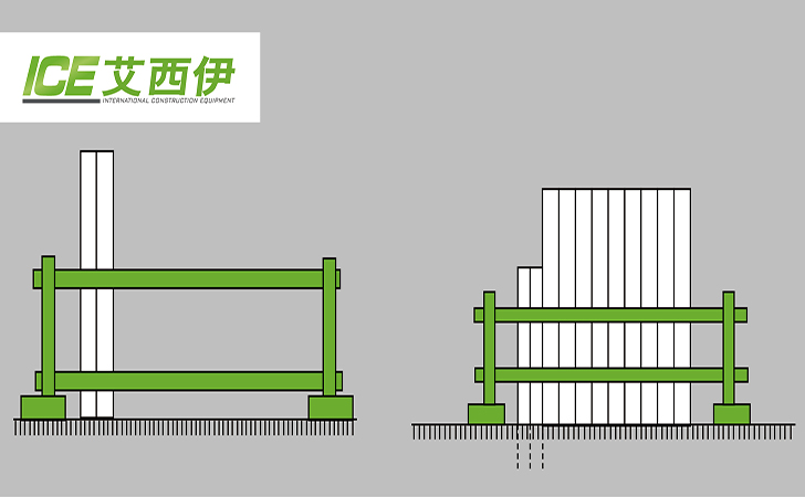 最常见的四种钢板桩打设方法