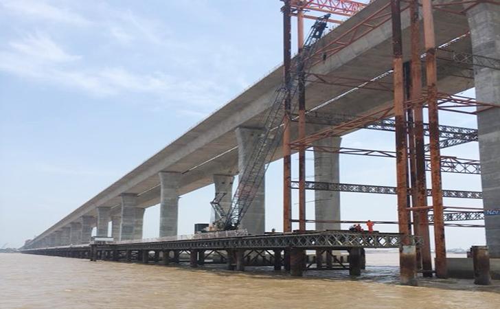 栈桥施工-ICE液压振动锤助力浙江沿海高速