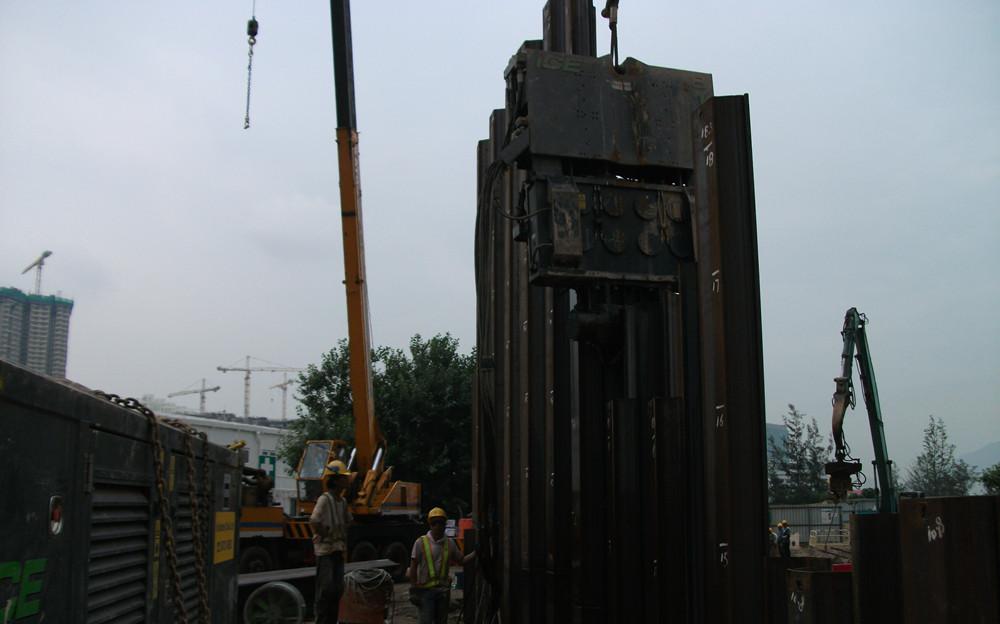 加宽板桩设置新的效率标准