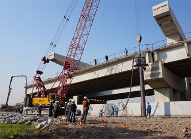 环保静音振动技术 - 革新上海市中心立交桥基础施工方法