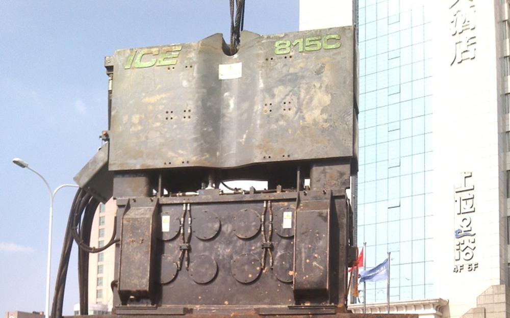 ICE振动技术助力长沙南北快速路工程建设