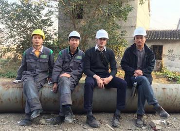 我的愿景:在中国城区以及郊区项目中推广绿色桩基施工