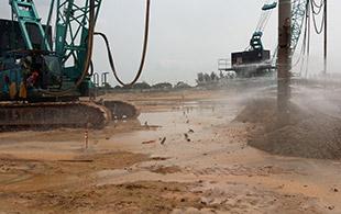 振冲密实项目:新加坡樟宜国际机场地基加固